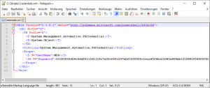 Powershell Encrypted Credentials