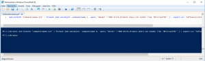 Powershell Software Inventory