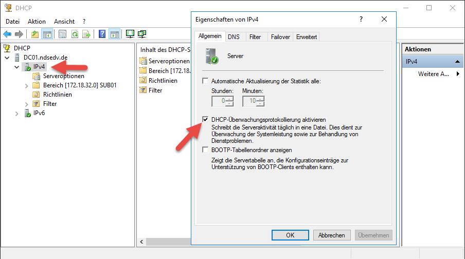 Dhcp Aktivieren Windows 10