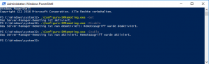 Enable Powershell Transcription