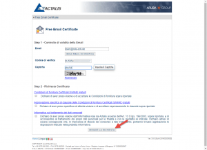 Free E-Mail Certificate
