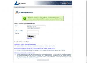 Kostenlose SMIME Zertifikate