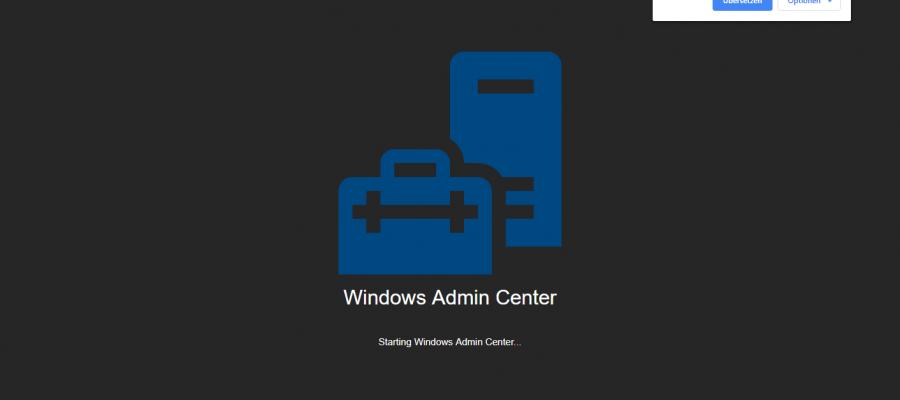 Windows Admin Center 1904
