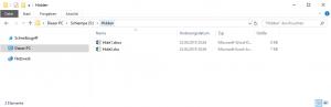 remove hidden attribute from files