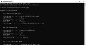 DNS Cache löschen zuletzt besuchte Internetseiten