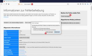 Machen Sie Firefox wieder flott