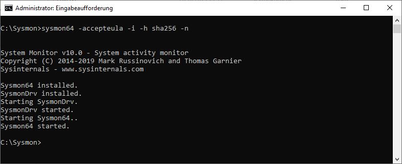 Sysmon DNS Query Event 22