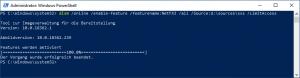DISM Install .Net Framework v3.5