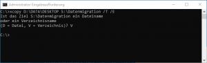 Datenmigration Ordnerstruktur übertragen
