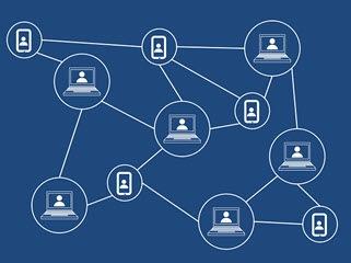 Mit welchen Netzwerken waren wir verbunden