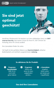 eset license data