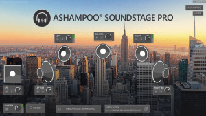 Ashampoo Soundstage Pro recording studio New York