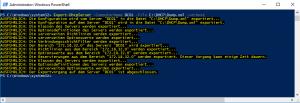 DHCP Subnetzmaske ändern - Export Dump