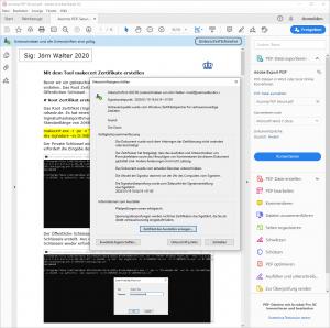Ascomp PDF Secure Unterschrift ungültig