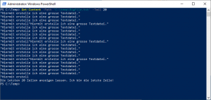Powershell read a big text file