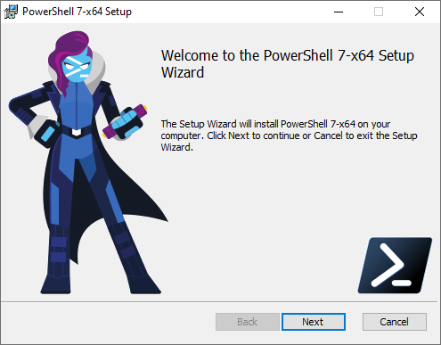 Microsoft Windows Powershell 7.0.0