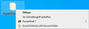 Block folder access