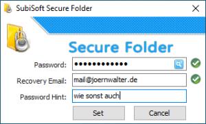 SubiSoft Secure Folder