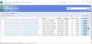 Microsoft Update Catalog Warenkorb