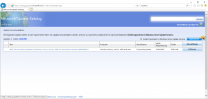 WSUS Update importieren