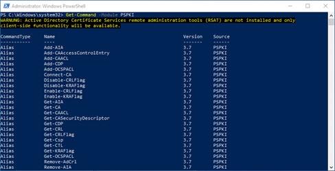 PowerShell PKI Module v3.7