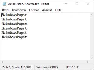 Text neu sortieren und ersetzen