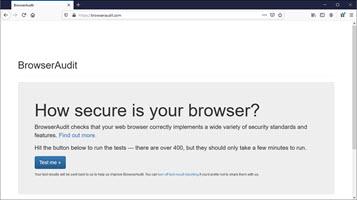 Browser Security Check BrowserAudit.com