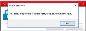 Invalid Password to unload agent after Update to build version 14.0.8378