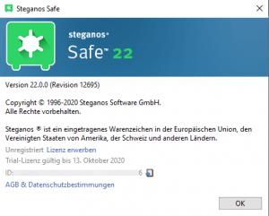 Steganos Safe 22.0.0 Revision 12695