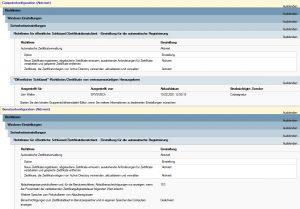Automatische Zertifikatsverwaltung aktivieren
