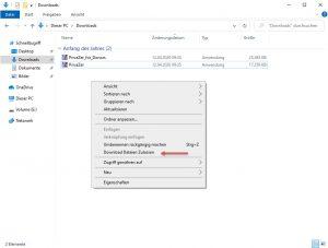 Download Dateien Zulassen Rechtsklick