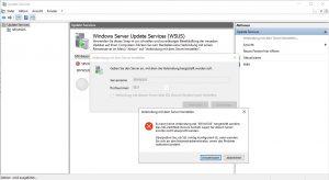 Es kann keine Verbindung hergestellt werden SSL Zertifikat