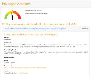 At least one Administrator Account can be delegated