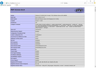 Install PHP on Microsoft Internet Information Services