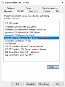 SQL Native provider