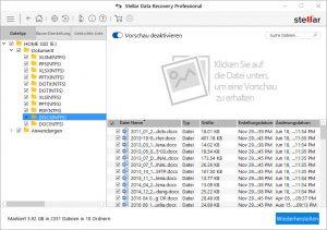 docx Dateiwiederherstellung