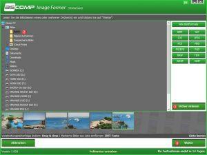 Ascomp Image Former Ordner einlesen und Bilder bearbeiten