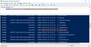 Client Metadaten pwdLastSet