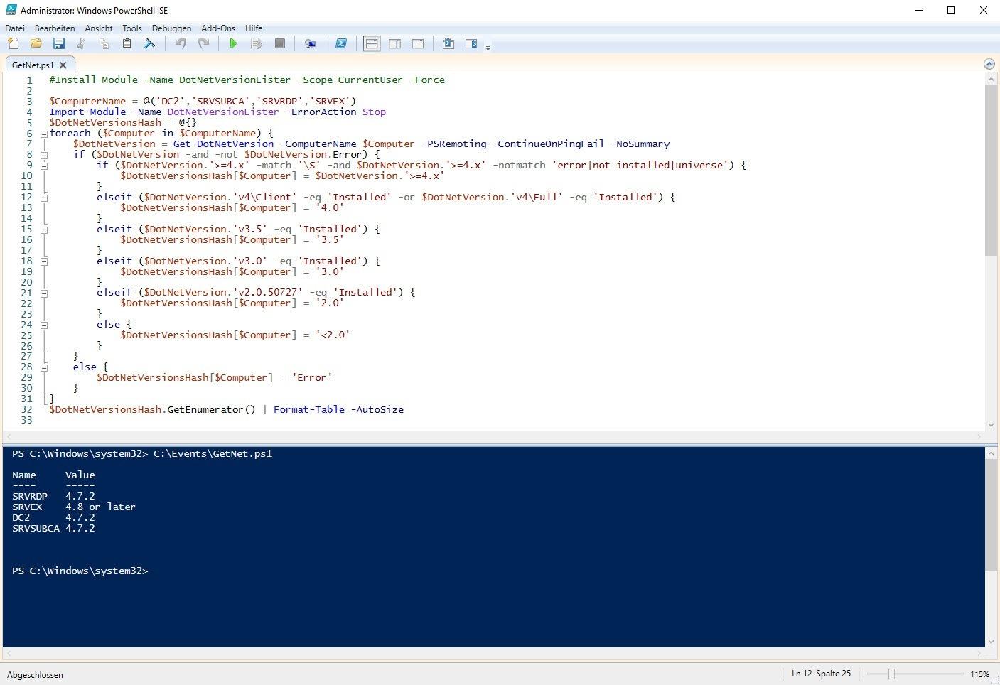 Welche .NET Framework Version ist installiert   Der Windows Papst ...