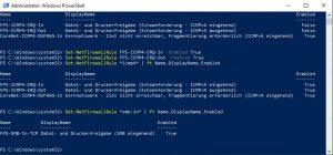 Windows Core Server eingehende SMB Verbindung aktivieren