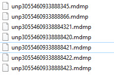 Windows Minidump File mdmp