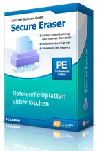 Permanently erase confidential files, folders, and entire hard drives with Secure Eraser.