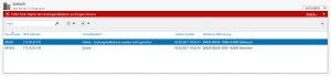 Beim Starten des Datensammlersatzes ist der folgende Systemfehler aufgetreten.