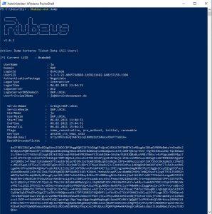 Dump Kerberos Ticket