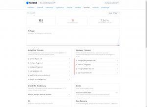 NextDNS Statistik