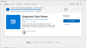 Diagnostic Data Viewer Tool