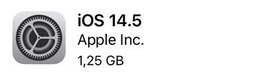 Apple iPhone Update iOS 14.5 watchOS 7.4