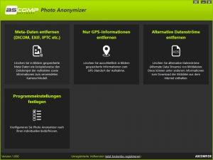 Photo Anonymizer kostenlos nach Registrierung