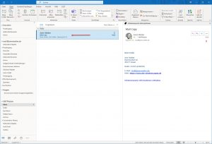 outlook mail copy shared mailbox