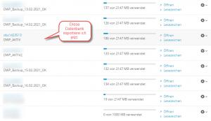 Wordpress Datenbank wp_postmeta zu groß